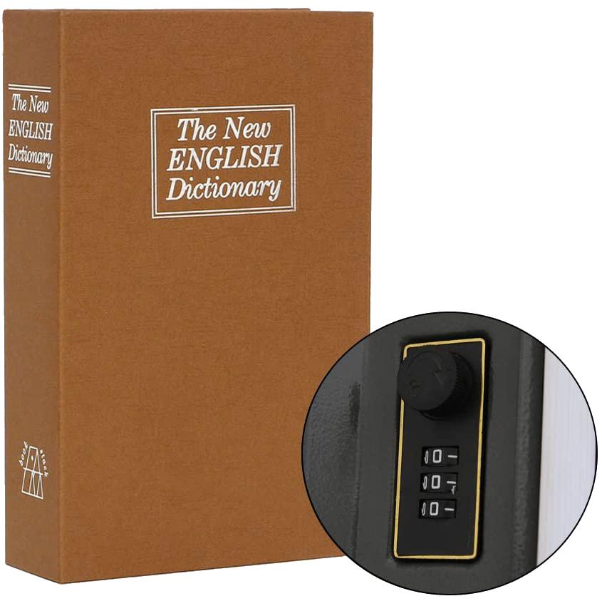 MÜHLEN Secret Safe 265 En Büyük Boy Kitap Şekli Gizli Şifreli Para ve Değerli Eşya Kasası 5