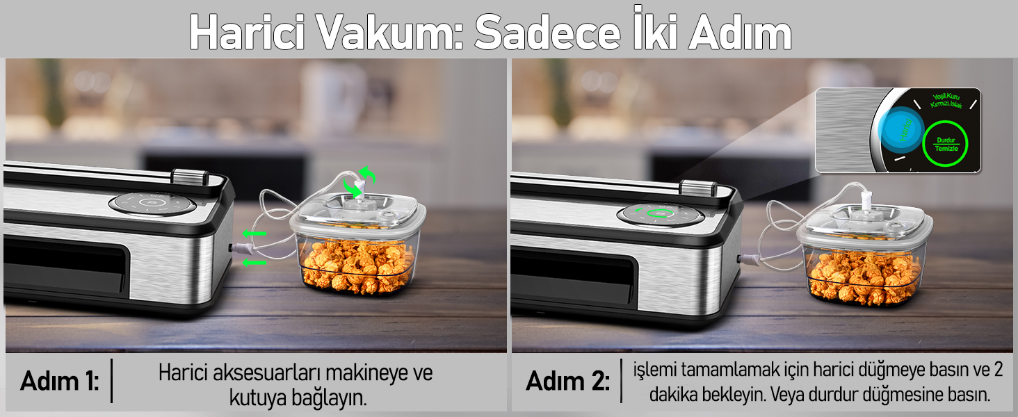 MÜHLEN V77 Otomatik Gıda Vakum Makinesi 4