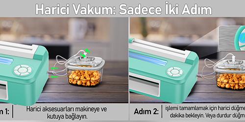 MÜHLEN V67 Tam Otomatik Gıda Vakum Makinesi 9