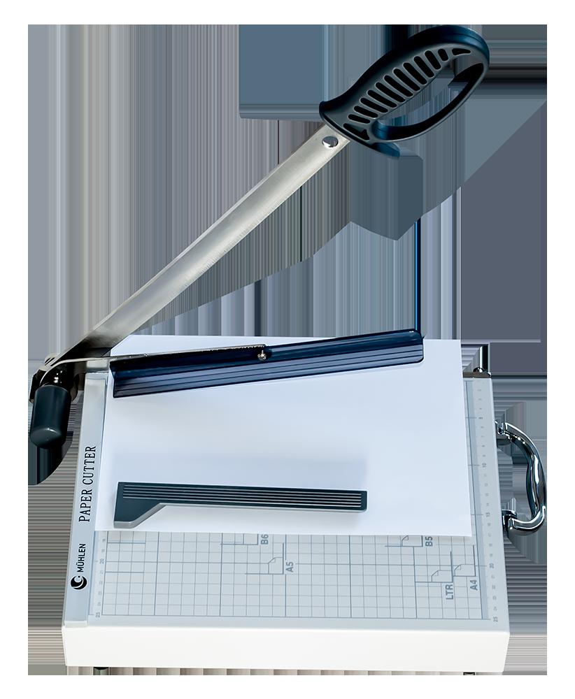 MÜHLEN Caki 480-A4 Kılıçlı ve Otomatik Presli Giyotin Makinesi 2