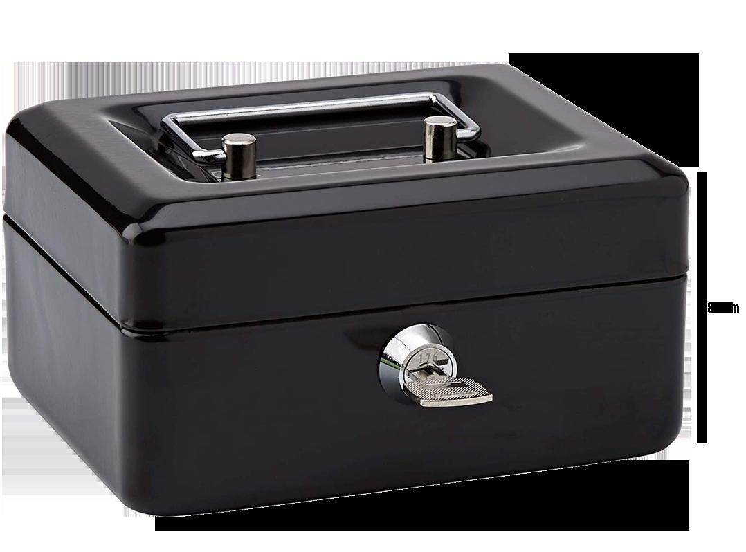 MÜHLEN Cash Box CB150 Mini Boy Taşınabilir Para Kutusu 3