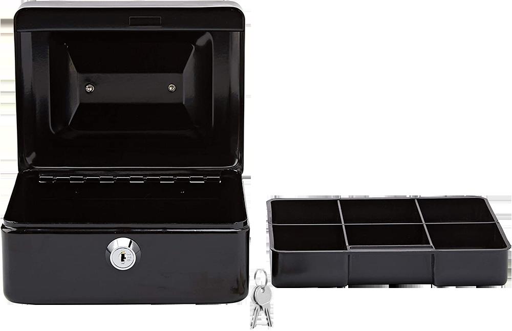 MÜHLEN Cash Box CB150 Mini Boy Taşınabilir Para Kutusu 5