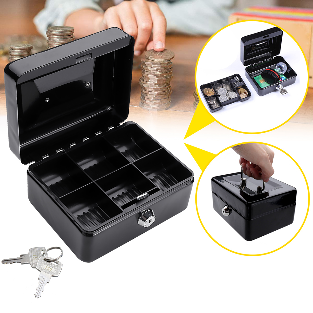 MÜHLEN Cash Box CB150 Mini Boy Taşınabilir Para Kutusu 8