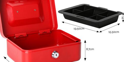 MÜHLEN Cash Box CB200 Orta Boy Taşınabilir Para Çekmecesi 12