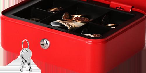 MÜHLEN Cash Box CB200 Orta Boy Taşınabilir Para Çekmecesi 13