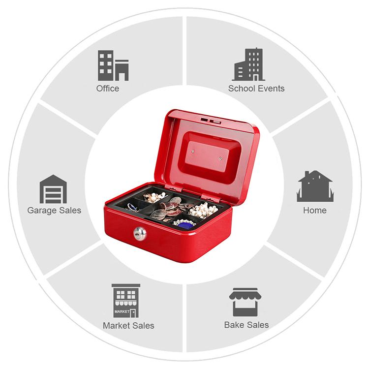 MÜHLEN Cash Box CB200 Orta Boy Taşınabilir Para Çekmecesi 6