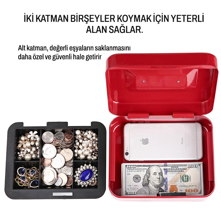 MÜHLEN Cash Box CB200 Orta Boy Taşınabilir Para Çekmecesi 8