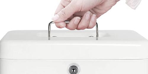MÜHLEN Cash Box CB250 Büyük Boy Taşınabilir Para Çekmecesi 9