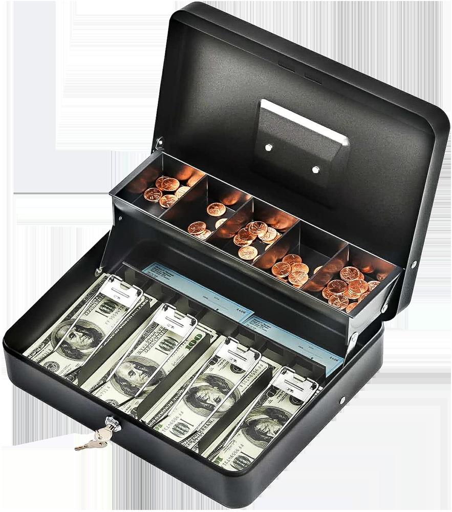 MÜHLEN Cash Box CB300 Fonksiyonel Taşınabilir Para Çekmecesi 1