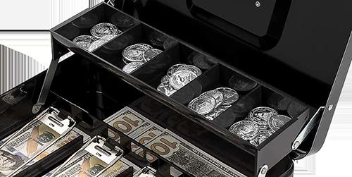 MÜHLEN Cash Box CB300 Fonksiyonel Taşınabilir Para Çekmecesi 12