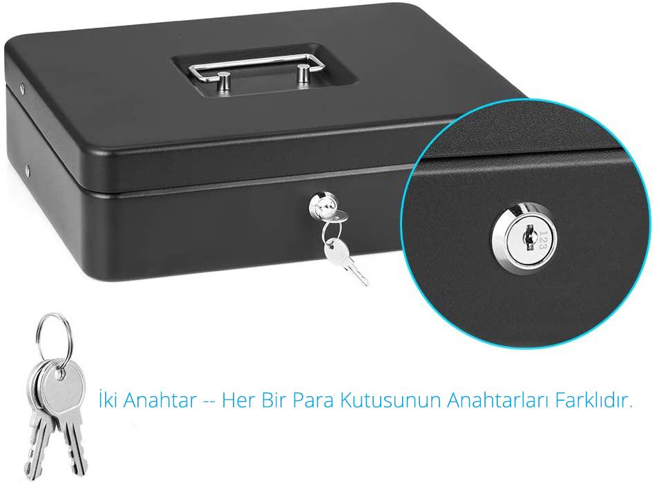 MÜHLEN Cash Box CB300 Fonksiyonel Taşınabilir Para Çekmecesi 3