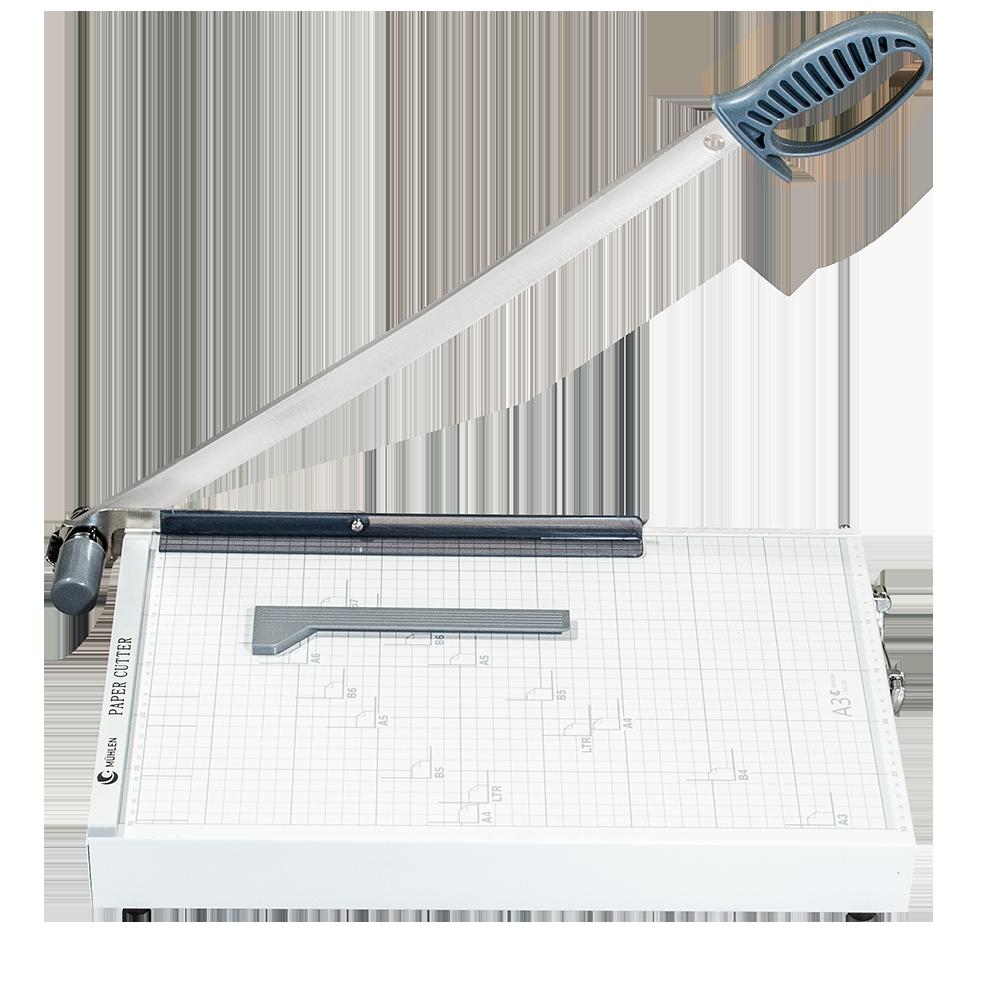 MÜHLEN Caki 380-A3 Kılıçlı ve Otomatik Presli Giyotin Makinesi 7